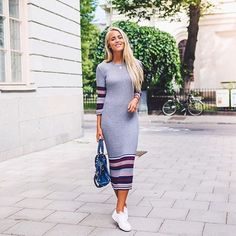 Regram from gorgeous Janni Deler wearing Elise knitted dress 499SEK/49.95EUR, out now! #GinaMyWay #ginatricot #knitwear #aw15 | Gina Tricot #GinaMyWay | www.ginatricot.com | #ginatricot