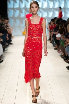 Nina Ricci womenswear, spring/summer 2015, Paris Fashion Week