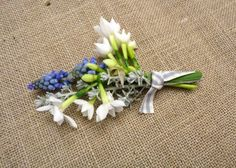 spring flower buttonholes