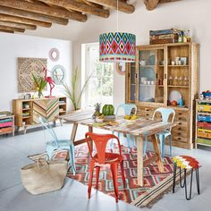 Aparador con 2 puertas de madera reciclada | Maisons du Monde