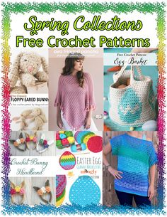 FREE PATTERN ROUNDUP: Spring Crochet Collections