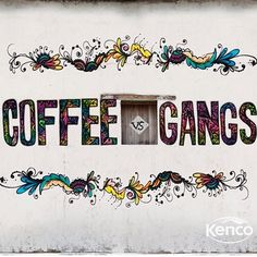Honduran urban artist Rei Blinky is a fan of the #CoffeeVsGangs project. He's so passionate about it that he created this mural for the farm where the project is based. Rei's work is all about trust and communities working together. #CoffeeVsGangs fits that bill perfectly. By training a group of vulnerable young people in the coffee business, it aims to give them the chance to avoid gangs. If walls could talk… well, this one does.