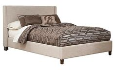 Upholstered Bed Program from Ashley Furniture Homestore... This will be My new big girl bed :-)