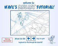 Lineart and SAI tutorial by suzuran.deviantart.com on @DeviantArt