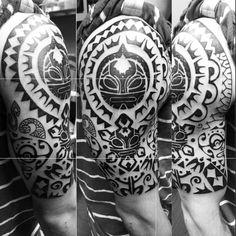 80 Taino tatuajes para los hombres – Ideas de diseño de tinta Cultural