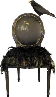 Xx..tracy Porter..poetic Wanderlust..  Raven Chair Www.
