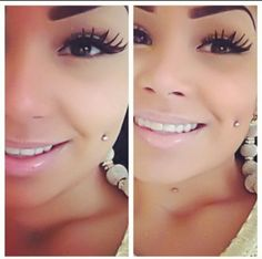 20 New Ideas For Piercing Face Dimples Piercing Face, Cheek Piercings, Piercing Tattoo, Back Dimple Piercings, Eye Makeup, Beauty Makeup, Hair Makeup, My Hairstyle, Shabby Chic