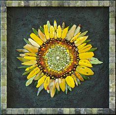 Mosaic.Подсолнух