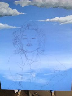 Marilyn takes shape.