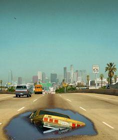 Interstate 110, By: Alex Prager Posted by: Jenny Piasini