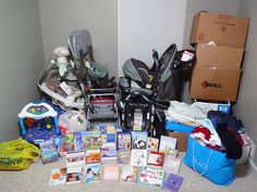 Q&a Tuesday: What Do I Do With All The Outgrown Baby And Kid Stuff?