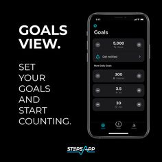 Have you set a goal for yourself today❓Simply set a step goal and off you go!   #pedometer #goalsview #startnow #active #healthy #summer2021 ☀️🏖👙🩱🤸♂️👟  #StepsApp #StepGoal #Goals #5kSteps #10kSteps #15kSteps #LetsDoThis #FitnessApp #Workout  How to do it 💨  📍Set your daily step goal in the settings of StepsApp 📍Get a notification when you nearly achieved your goal 📍Analyze your activity data 📍Get motivated to do more steps and optimize your goals Daily Goals, Achieve Your Goals, Counter, Activities, Workout, Motivation, Healthy, Work Out, Health
