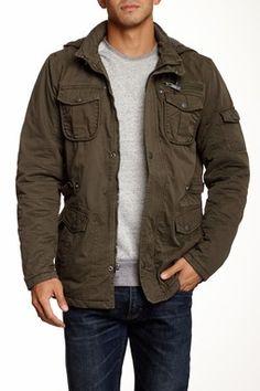 53de45110c Detachable Hood Jacket Casual Chic