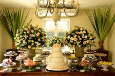 decoração floral / peças da mesa alugadas