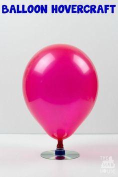 Make a balloon hover