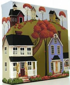 Margy's Musings: Folk Art Paintings