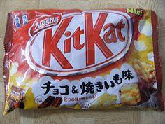 Roasted Sweet Potato Kit Kat