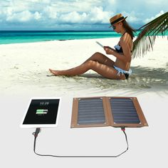 portable solar panel for iPad
