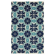 Artfully handmade, this eye-catching rug adds a wealth of spring style to your living room, bedroom, or office.    Product: Rug