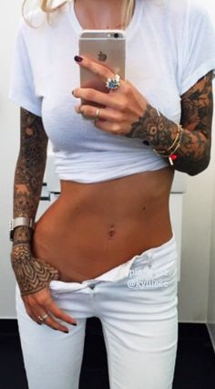 LOVE THE LACE SLEEVE TATTOOS