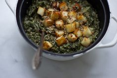Saag Paneer. One of my fav Indian meals, at home!