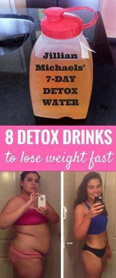 8 detox drinks to lose weight fast
