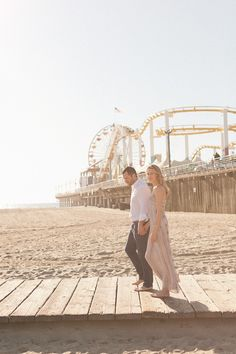 Inspired by this Boardwalk Beach Engagement | Inspired by This Blog
