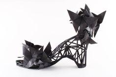 3-D PRINTED FASHION Continuum Fashion strvct Shoes