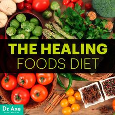 Looking To Flush The Toxins From Your Body? Try The Healing Foods Diet by Dr. Axe | Detox | Cleanse |