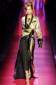 Alana Zimmer in Jean Paul Gaultier couture Spring 2012