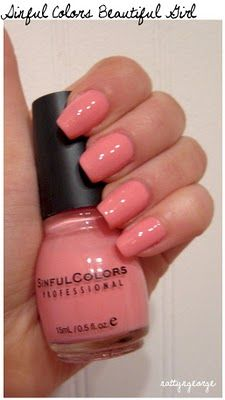 Beautiful Girl by Sinful Colors (Love this brand, btw! It's also hella cheap @ Walgreens which is always a plus!)
