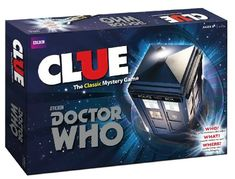 Doctor Who Clue - I NEED THIS!! I love Doctor Who and I love Clue!