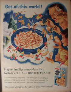 Kellogg's Sugar Frosted Flakes - 1955