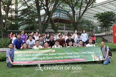 University members of the World Mission Society Church of God Singapore collaborated with ASEZ in an initiative to clean the campus grounds of NUS.