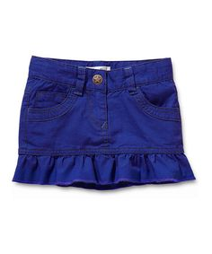 Take a look at this Blue Dallas Skirt - Infant by Noppies on #zulily today#zulily #fall