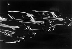 Louis Faurer, Garage, Park Avenue, NYC, 1950