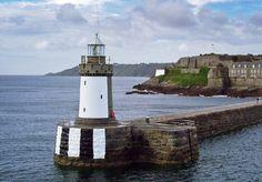 Castle Breakwater light in Guernsey