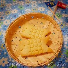 子どもの日に♪さくさく鯉のぼりクッキー