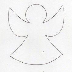 Vorlage Engel