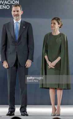 King Felipe of Spain and Queen Letizia of Spain attend 2016 Innovation and Design Awards on February 6, 2017 in Alcala de Henares, Spain.  (Photo by Eduardo Parra/Getty Images)