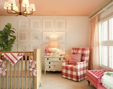 country chic girl #nursery