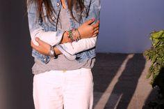 #fashion, diy, bleach, jeans, jacket, morocco
