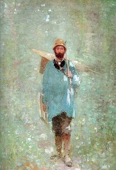 S a festo maga by Nicolae Grigorescu Romania, Artsy Fartsy, Sculptures, Workshop, Paintings, Fictional Characters, Vintage Furniture, Painting Art, Atelier