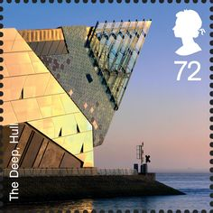 Royal Mail Special Stamps | Modern Architecture The Deep, Hull