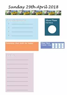 Planner Inserts | A Day In The Year Calendar Organization, Family Organizer, Make Ready, Planner Inserts, Moon Phases, Workshop, Social Media, Let It Be, Atelier