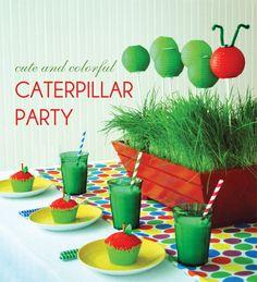 Caterpillar Birthday Party