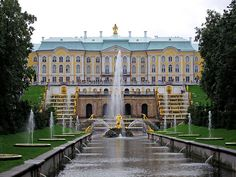 peterhof palace | Found on cruise-addicts.com