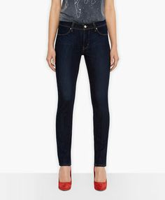 "Levi's® Revel; Slight Curve Skinny Jeans - in Pressed Dark - 27"" Waist 32"" Inseam"