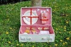 DIY : ma valise pique-nique vintage - www.elleadore.com