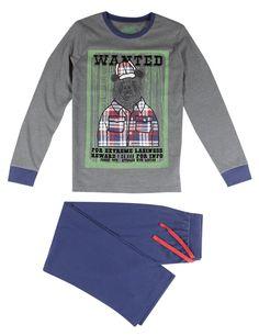 Stay Soft Bear Print Pyjamas (6-16 Years)